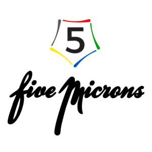 5 microns logo