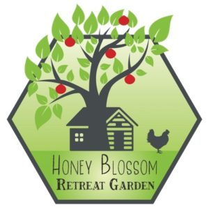 Logo for Honey Blossom Retreat Garden